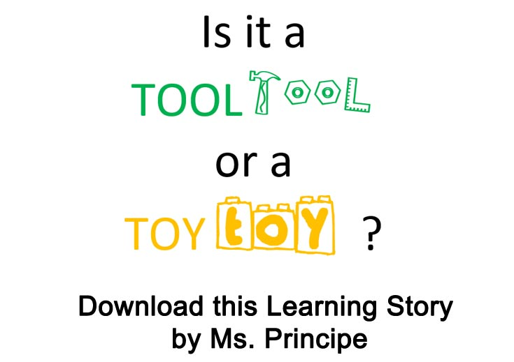 Tool or Toy Social Story