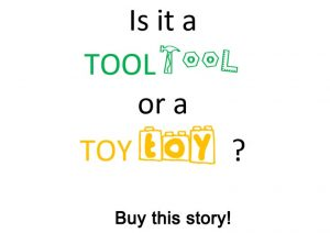Buy this learning story about self-regulation tools.