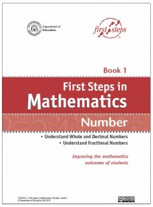 First Steps in Math Number - Book 1
