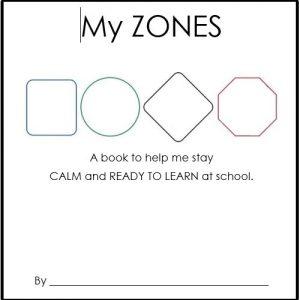 My Zones Booklet - Primary