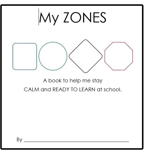 My Zones Booklet - Primary