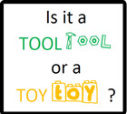 Tool or Toy? learning Story by Ms. Principe