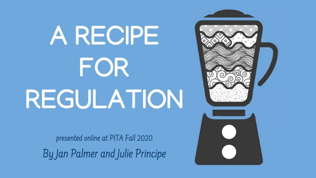 Recipe for Regulation - Zoom Workshop