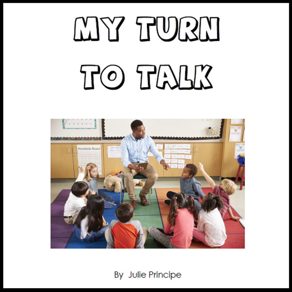 My Turn To Talk - Learning Story by Julie Principe